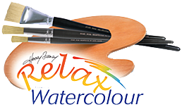 Relax with Watercolour Retina Logo